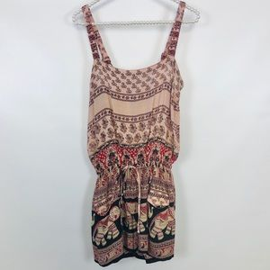 RAGA | Womens Lucky Elephant Romper Size Small